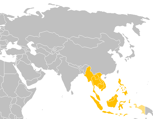 Southeast Asia Map.