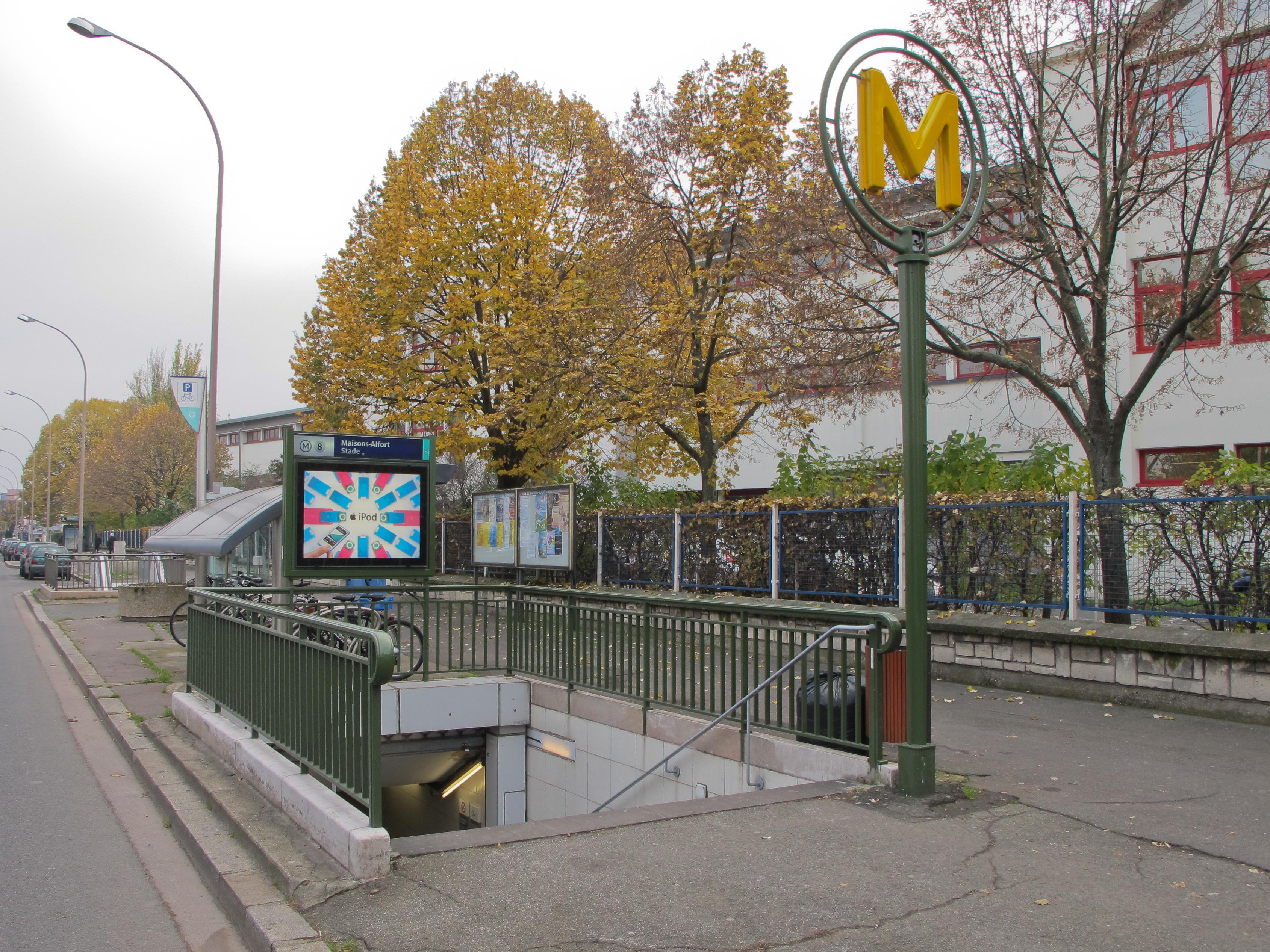 Maisons Alfort Stade Metro De Paris Wikipedia
