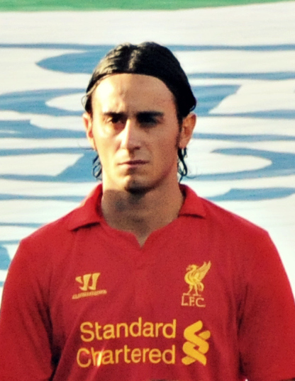 The 34-year old son of father (?) and mother(?) Alberto Aquilani in 2019 photo. Alberto Aquilani earned a  million dollar salary - leaving the net worth at 50 million in 2019
