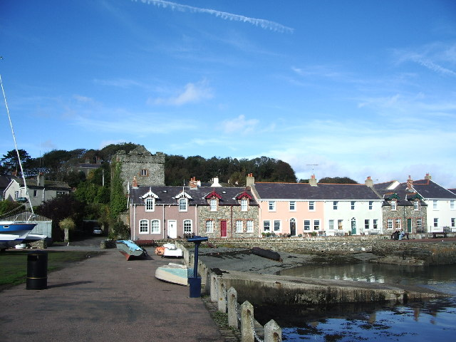 File:Strangford Harbour front - geograph.org.uk - 69647.jpg