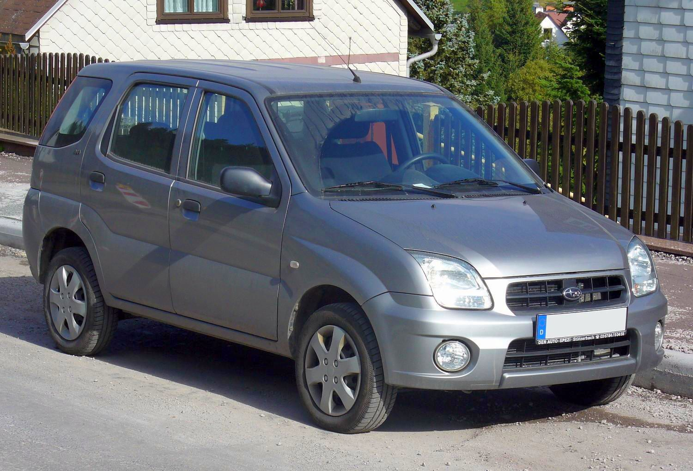 Subaru Justy — Wikipédia