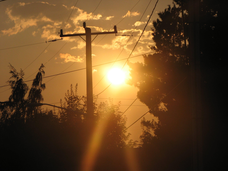 File Sunrise Over Trees Jpg Wikimedia Commons