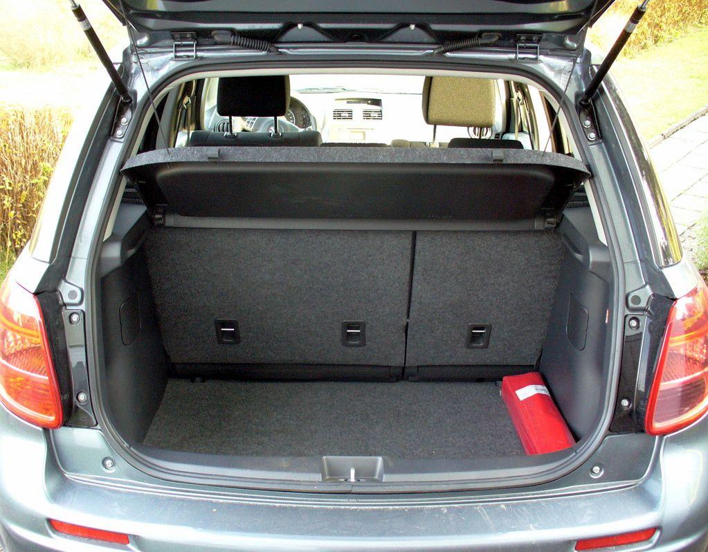 Suzuki Sx Touring Package