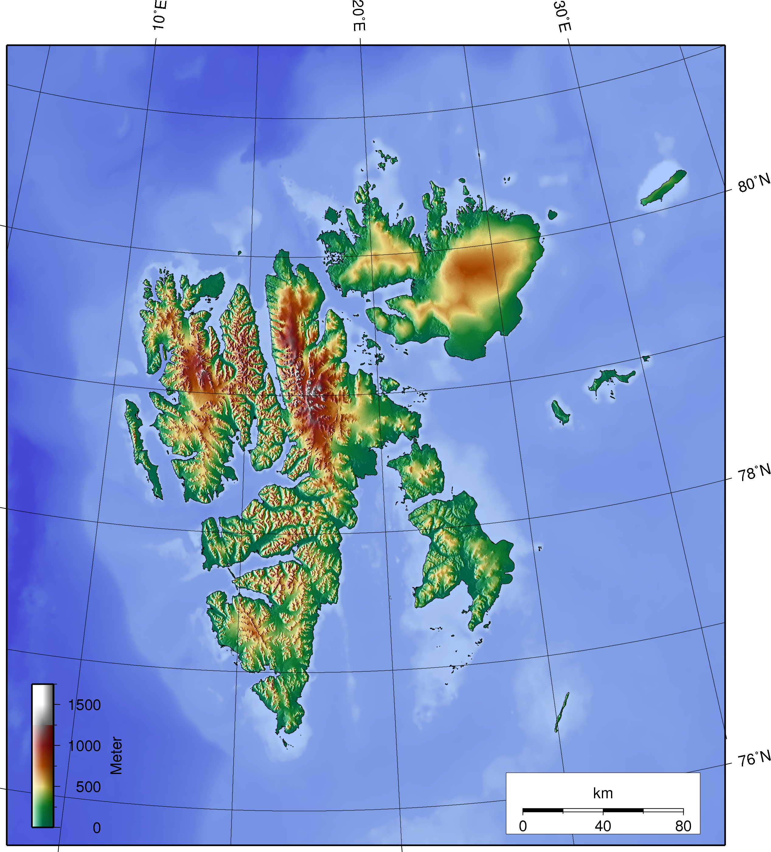Island Map Cool