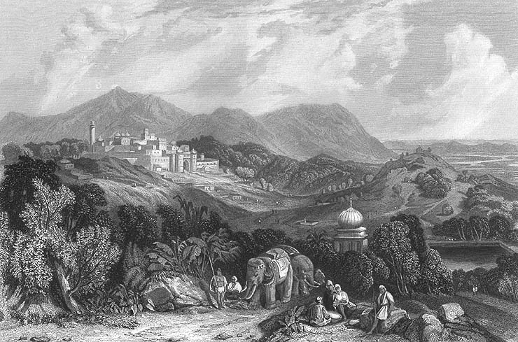 The Fort of Nahan, c.1850 - Hill Stations Near Delhi