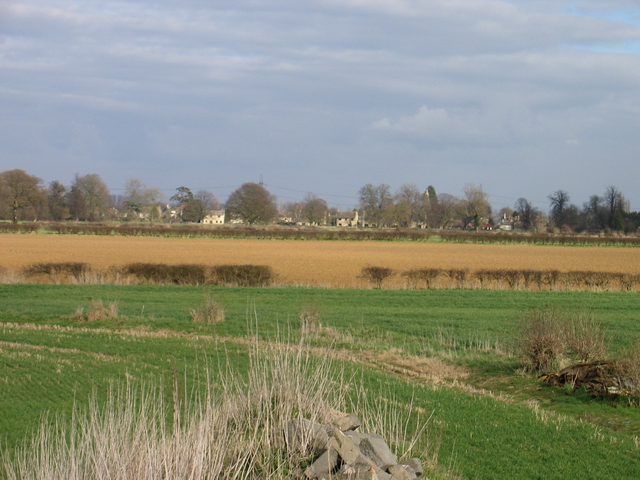 The fields towards Bainton from the Torpel Way - geograph.org.uk - 356822