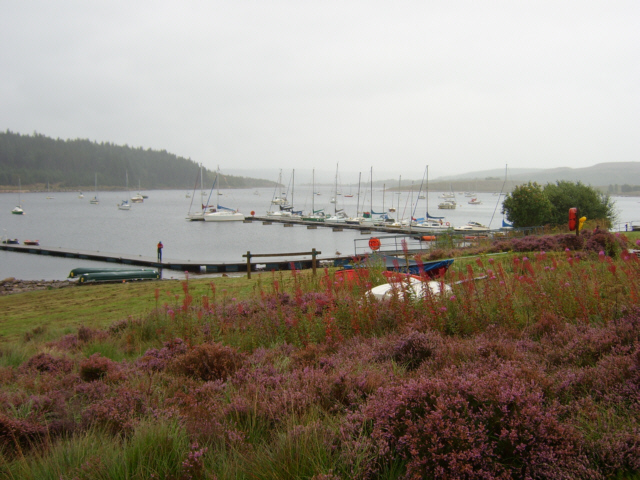 The jetty at Whickhope - geograph.org.uk - 44756