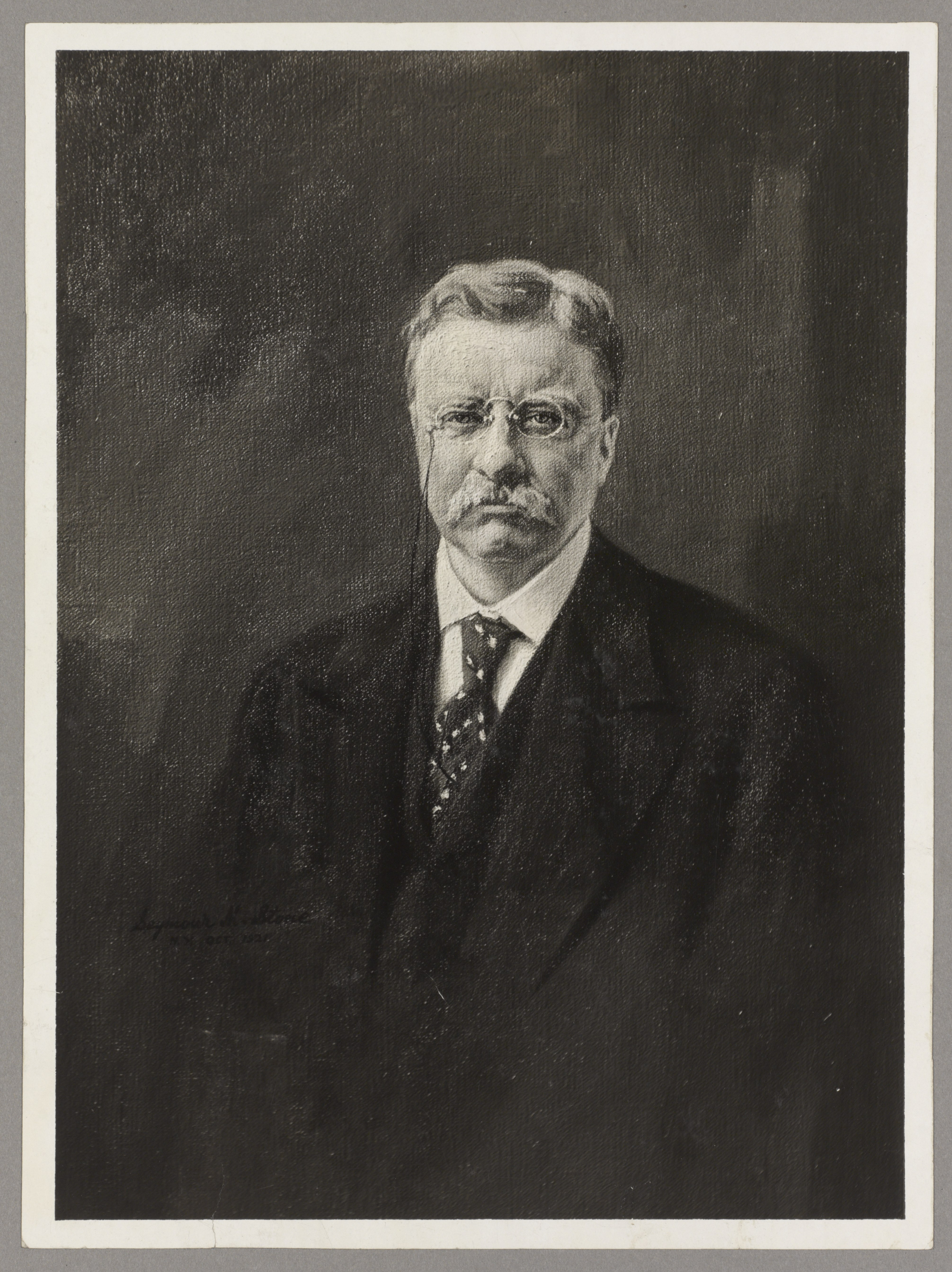 File Theodore Roosevelt front view bust portrait of Mr Roosevelt
