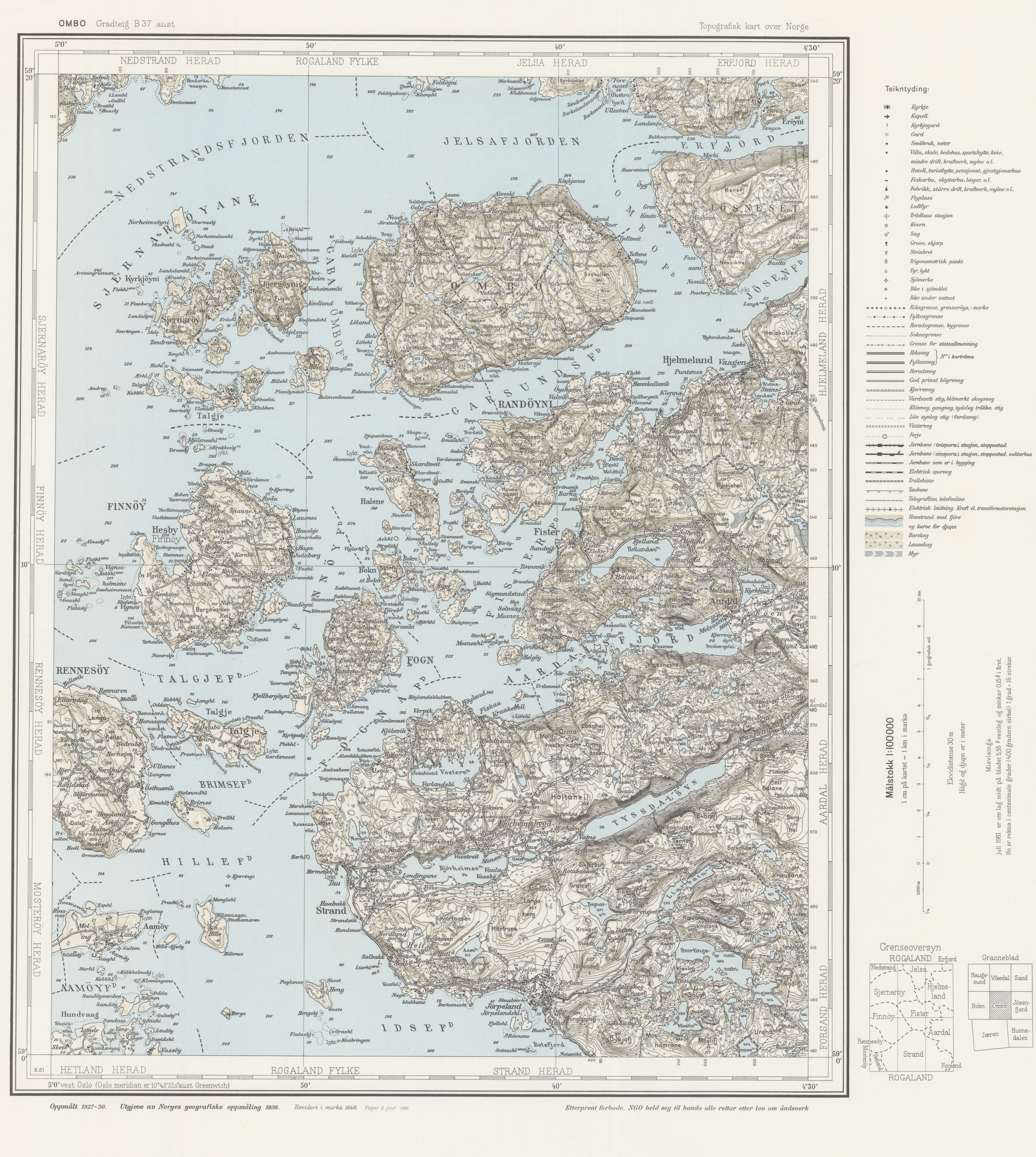 File Topographic map of Norway B37 aust Ombo 1960 Wikimedia