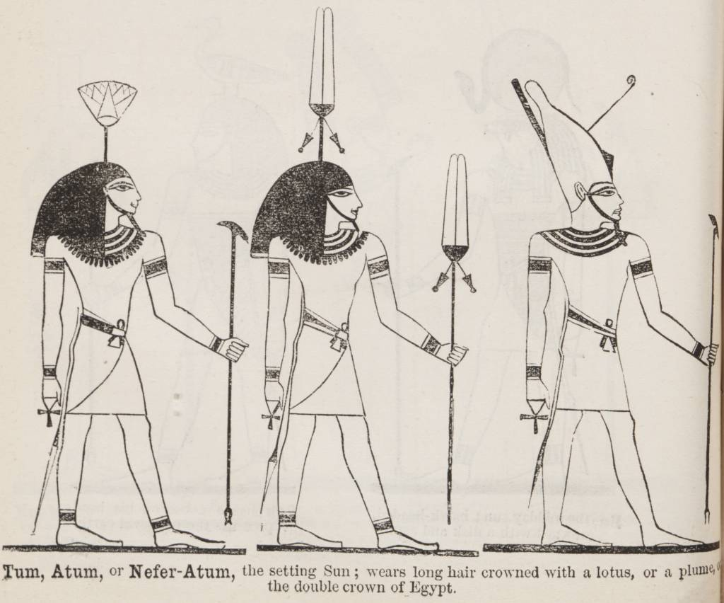 http://upload.wikimedia.org/wikipedia/commons/0/0d/Tum_%28in_Illustrated_List_of_the_principal_Egyptian_Divinities%29_%281888%29_-_TIMEA.jpg