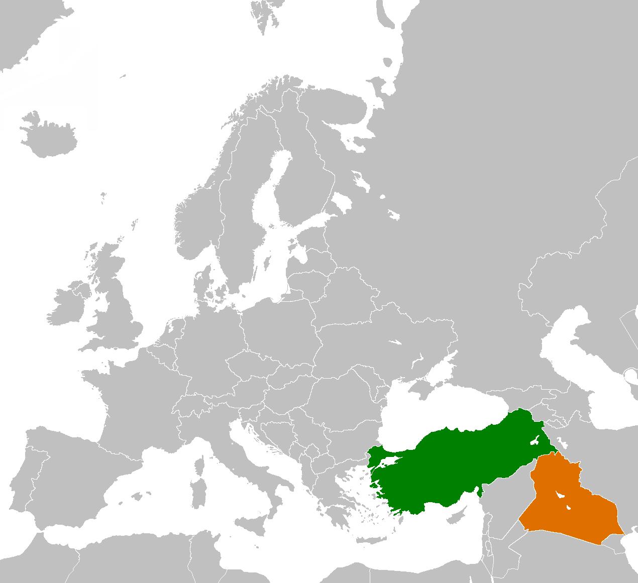 Irak et Turquie
