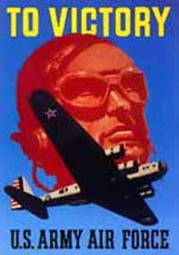 Affiche de recrutement de l'USAAF