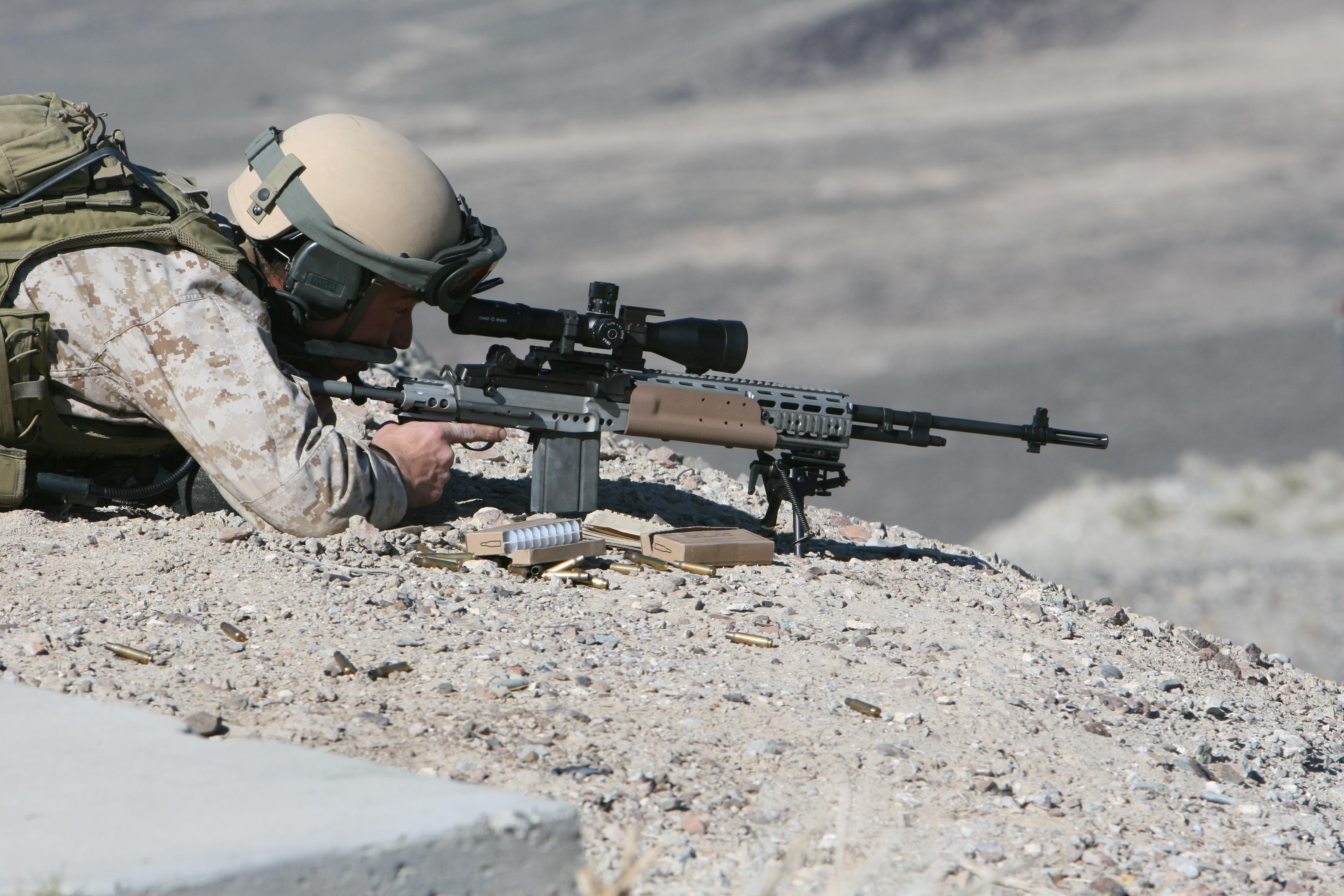 M39 Enhanced Marksman Rifle - Wikipedia