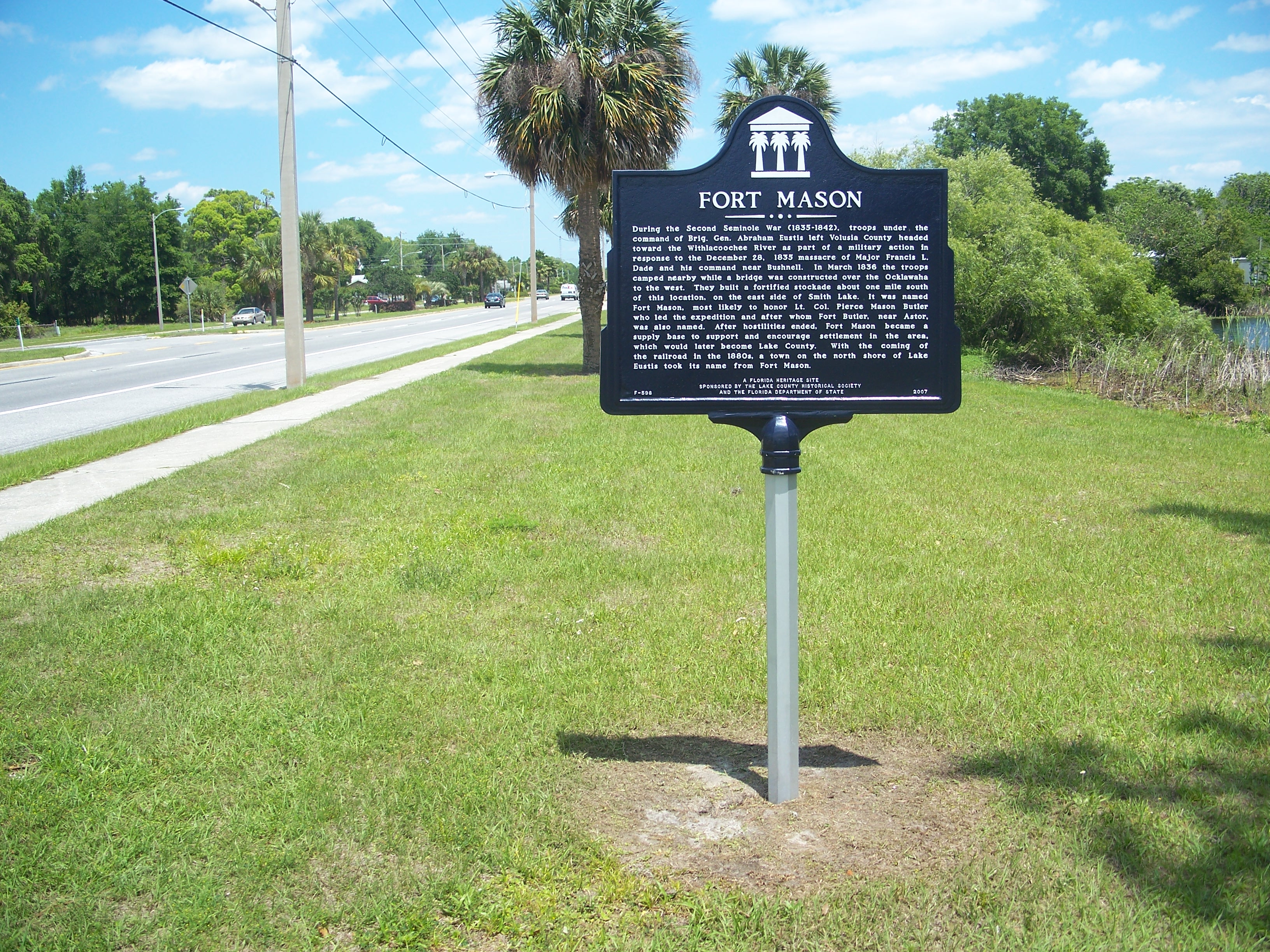 File:Umatilla FL Fort Mason plaque01.jpg - Wikimedia Commons