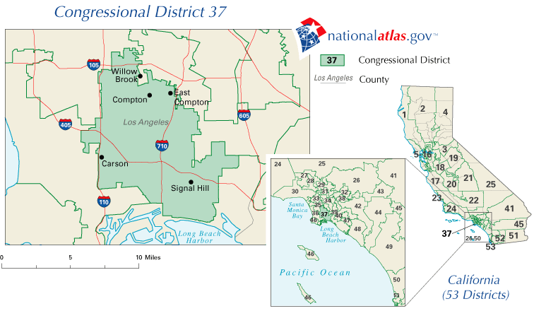 File United States House Of Representatives California District 37 Png Wikimedia Commons