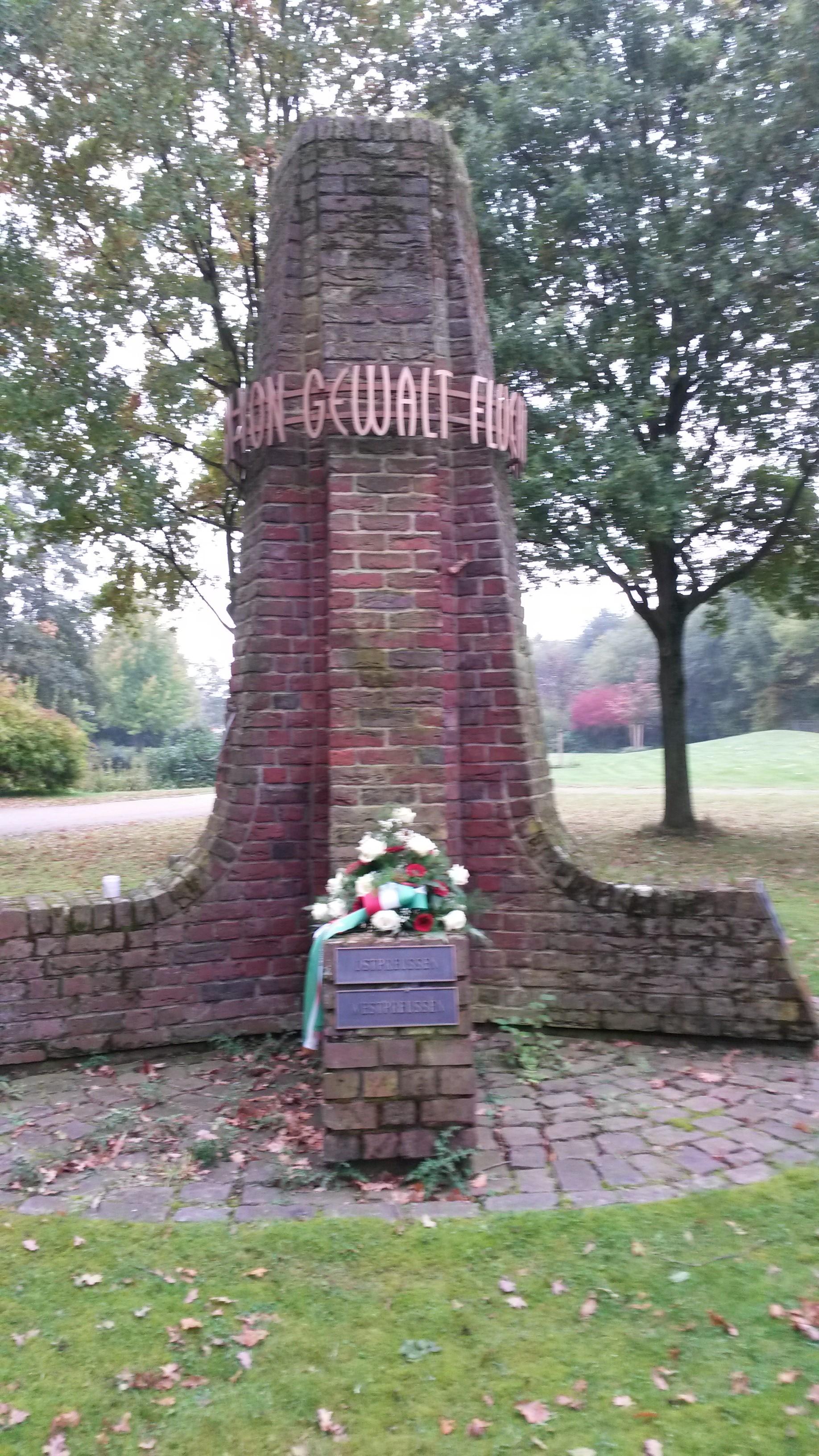 Liste der Vertriebenendenkmale in Nordrhein-Westfalen (H-W
