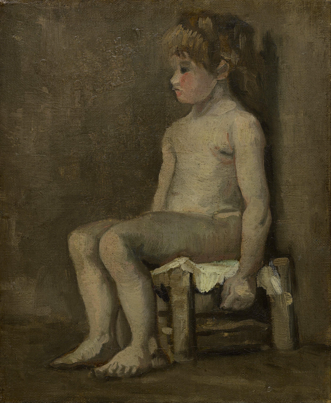 Vincent by nude portrait