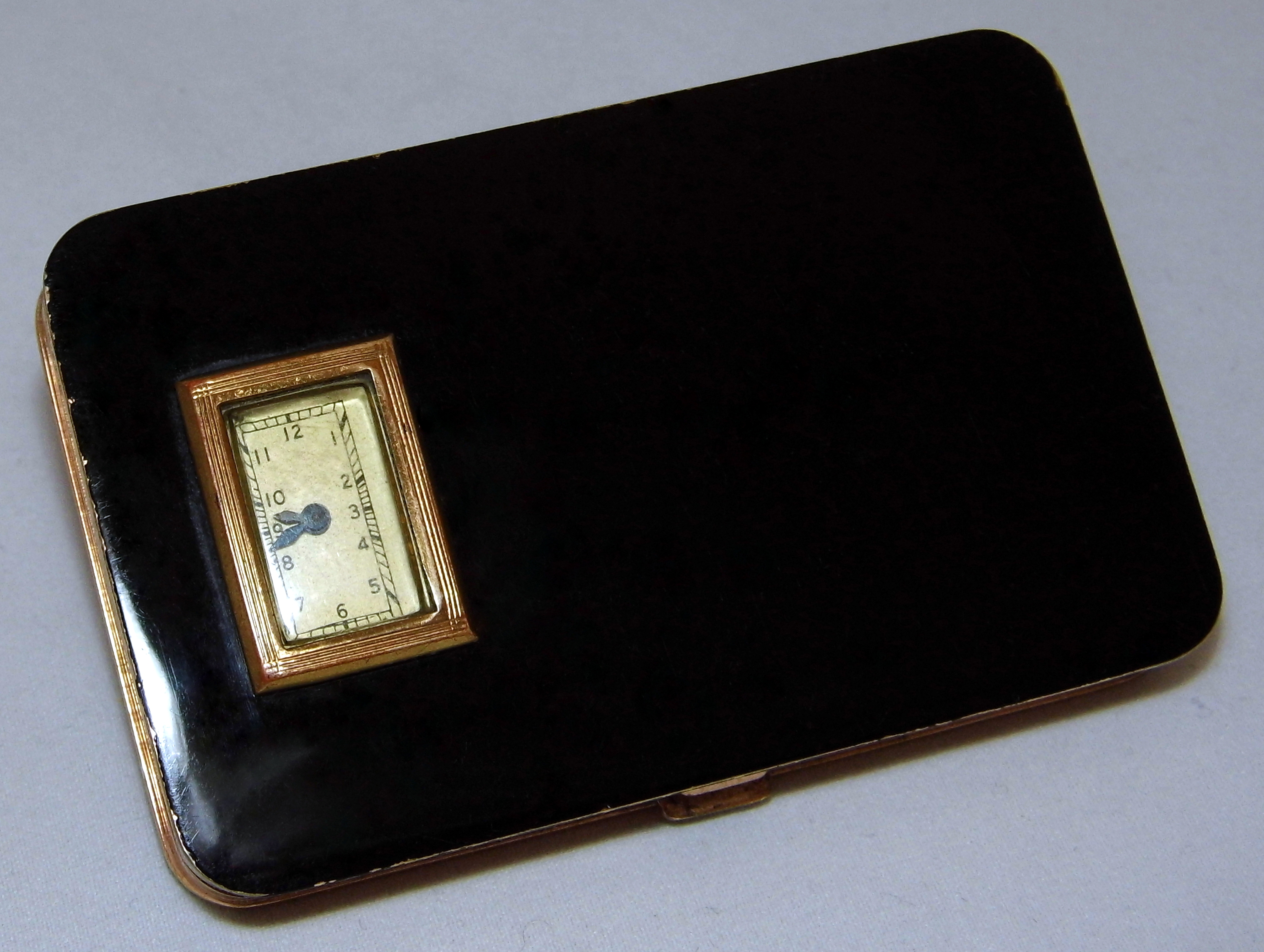 File Vintage Evans Women s Powder pact With Manual Wind Watch