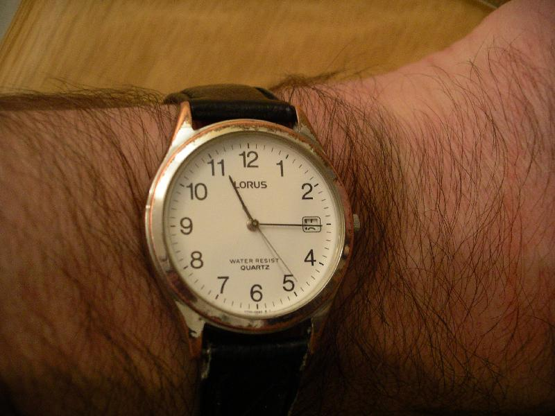 invention de la montre