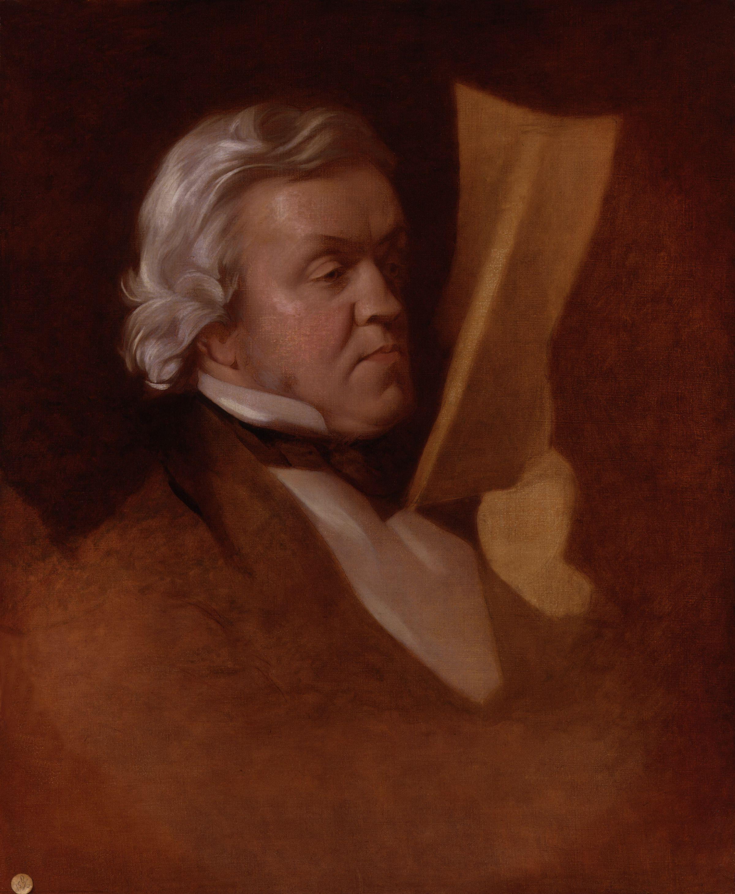 William Makepeace Thackeray by Samuel Laurence d 1884