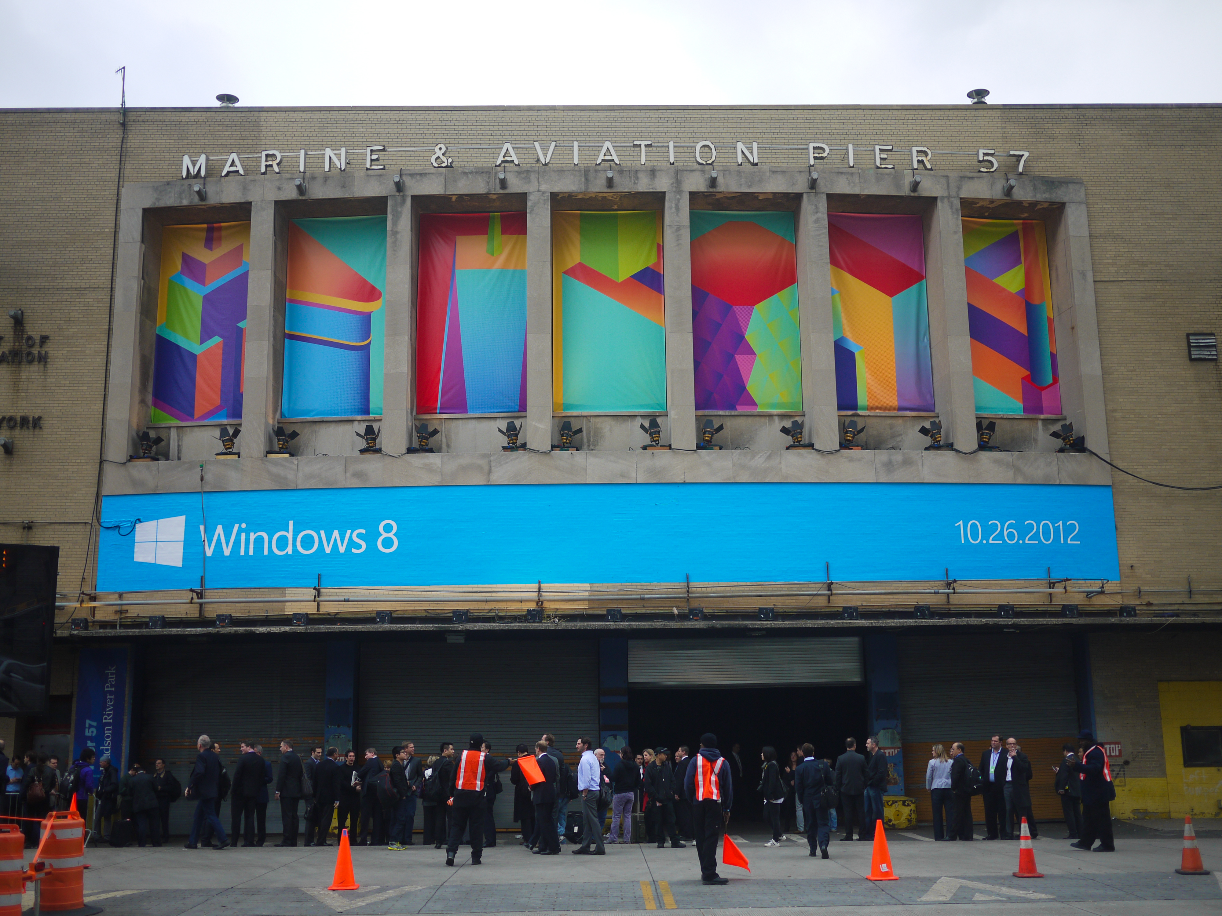 File Windows 8 launch event at Pier 57 in New York City