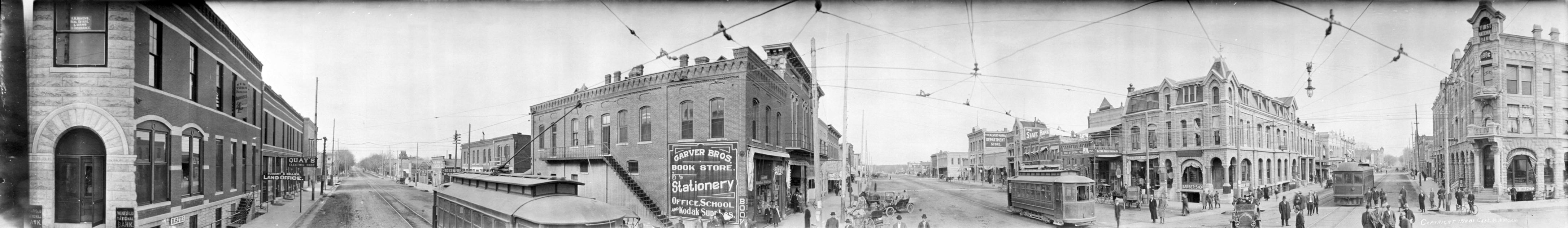 Winfield panorama (1910)
