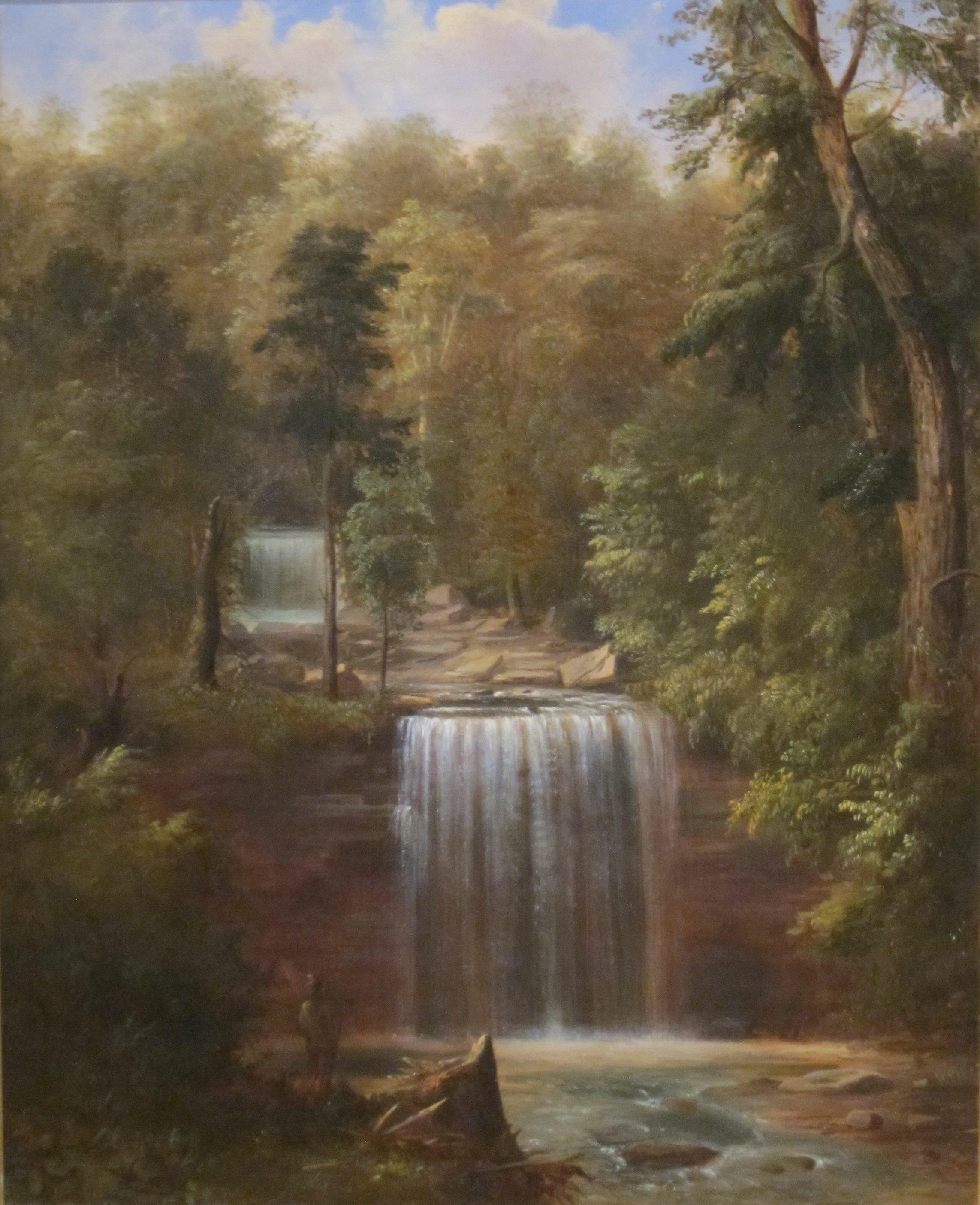 Minneapolis Painters: File:'Minneopa Falls, Minnesota' By Robert S. Duncanson, Cincinnati Art Museum.JPG