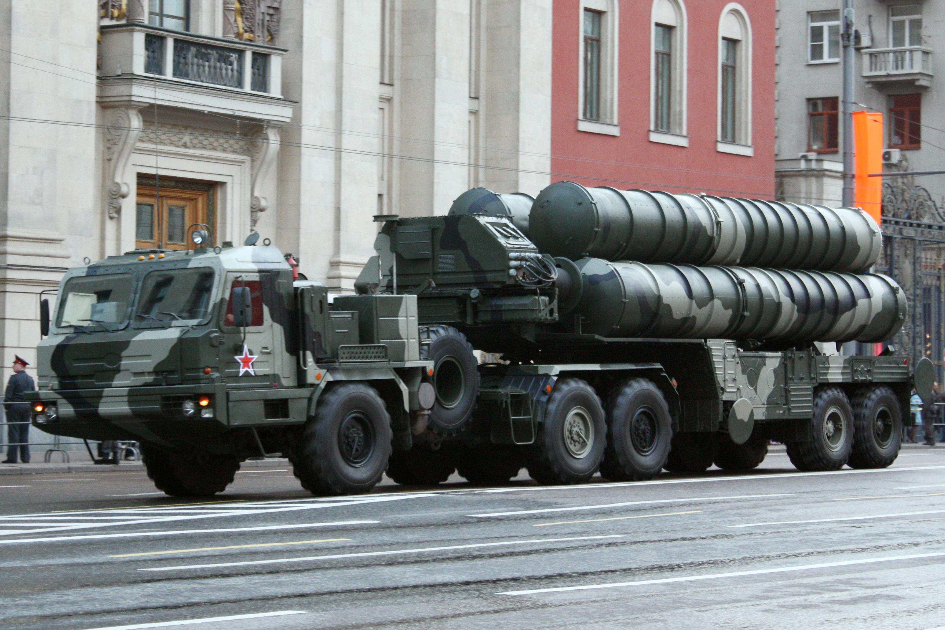 S-400 Πυραυλικό σύστημα (INFOGRAPHICS)