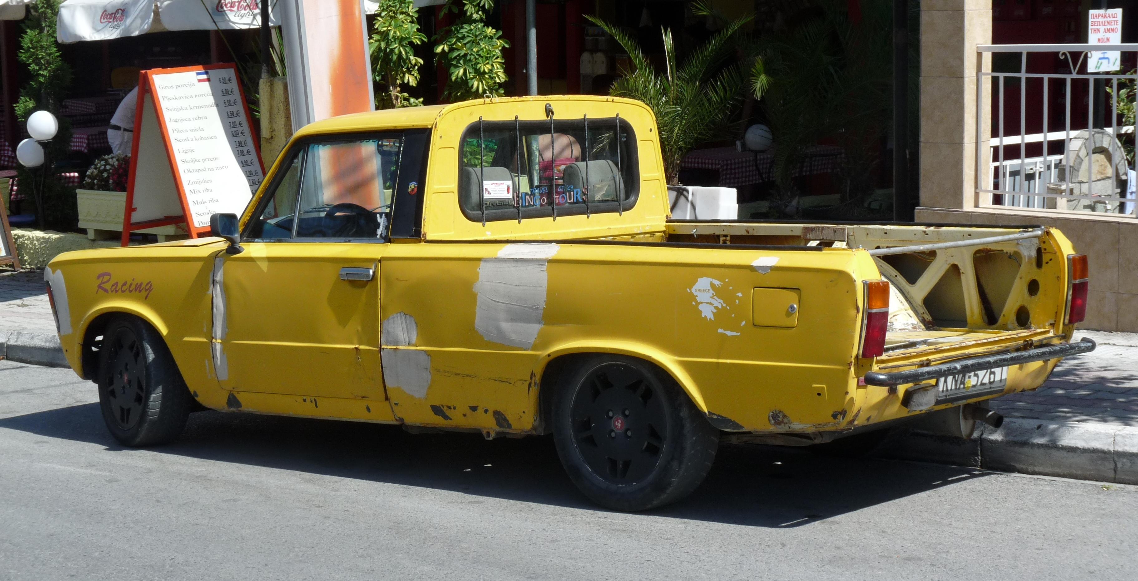 Inne rodzaje File:125p pickup Greece 2.JPG - Wikimedia Commons GN99