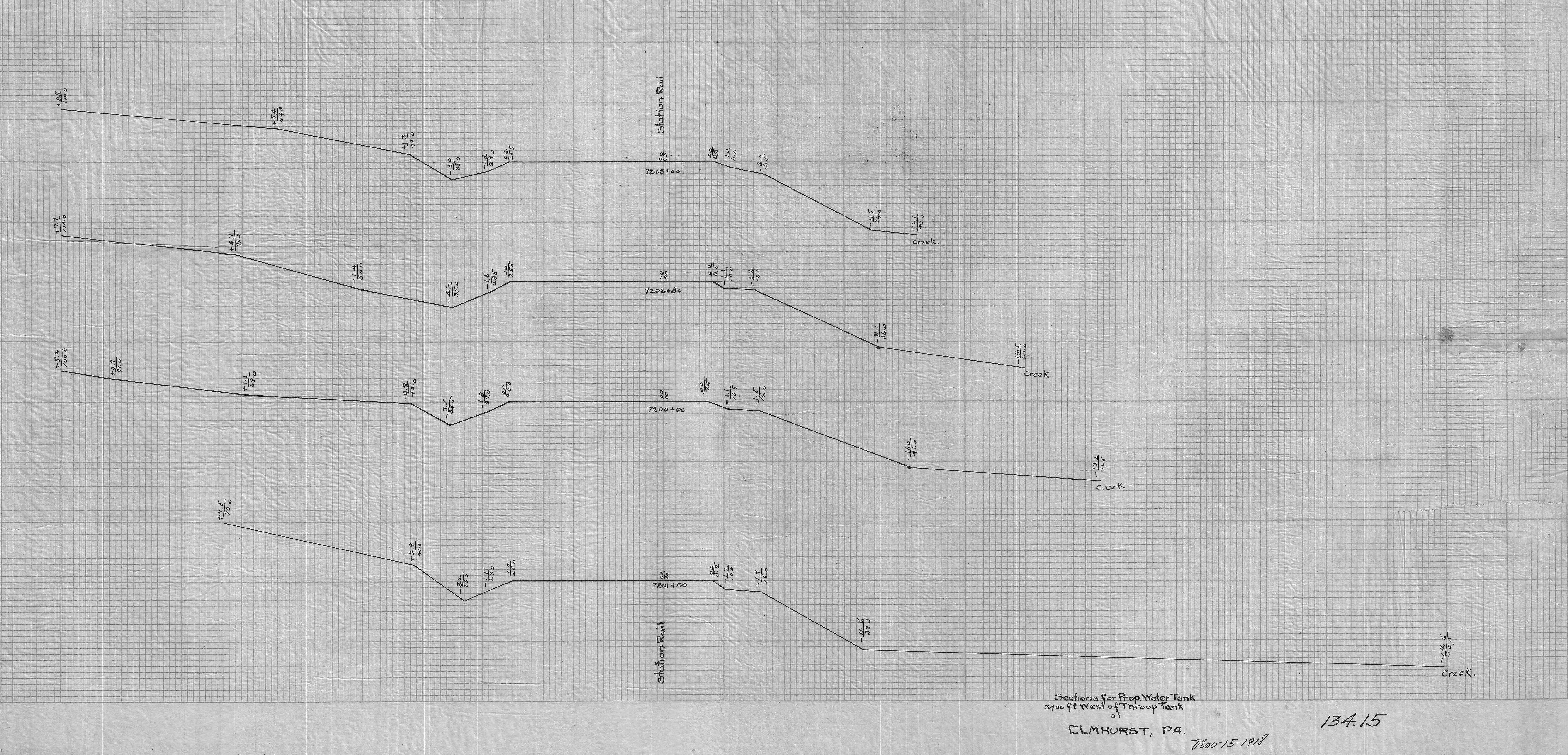 File:134-15.PJ--Section for proposed water tank--3400-feet ...