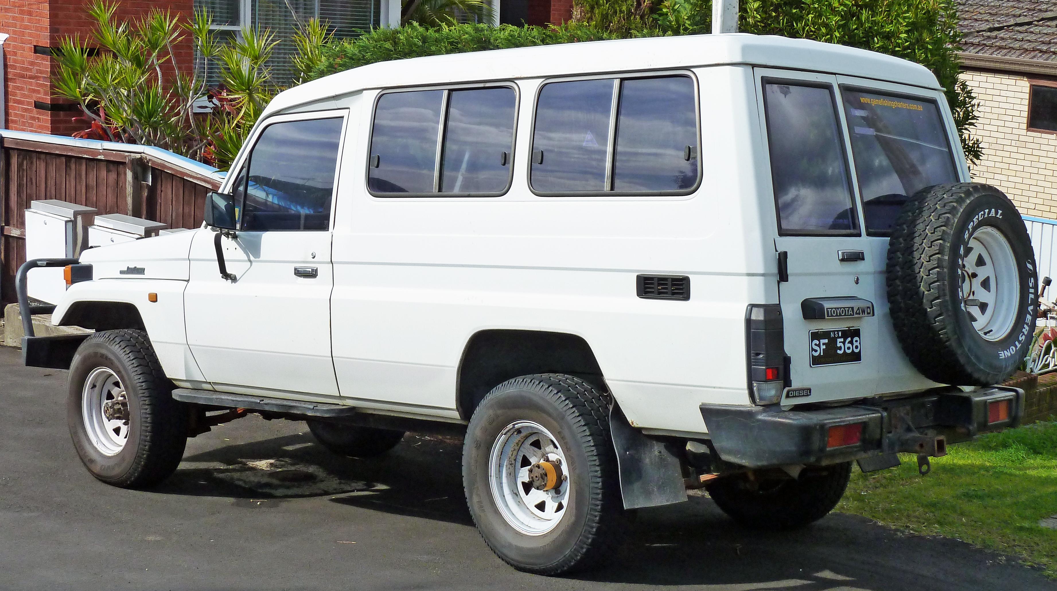 Toyota Land Cruiser (J70) - Wikiwand