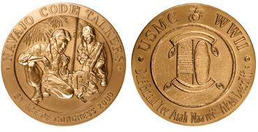 Congressional Gold Medal Awarded to the Code Talkers
