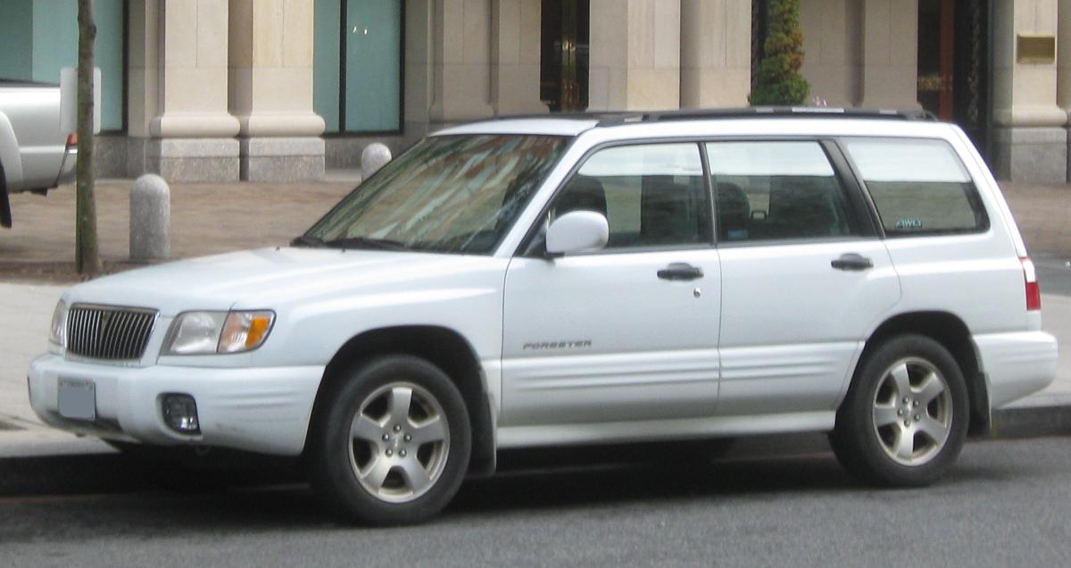 Субару форестер 2002 фото