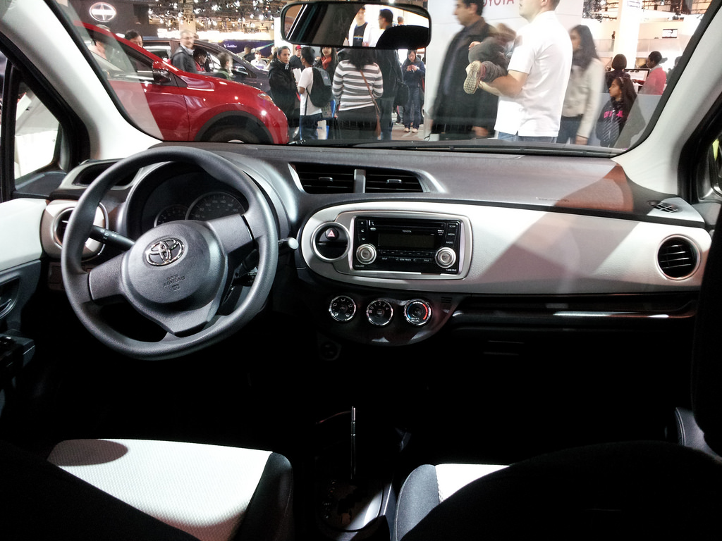File:2013 Toyota Yaris Interior At 2013 CIAS