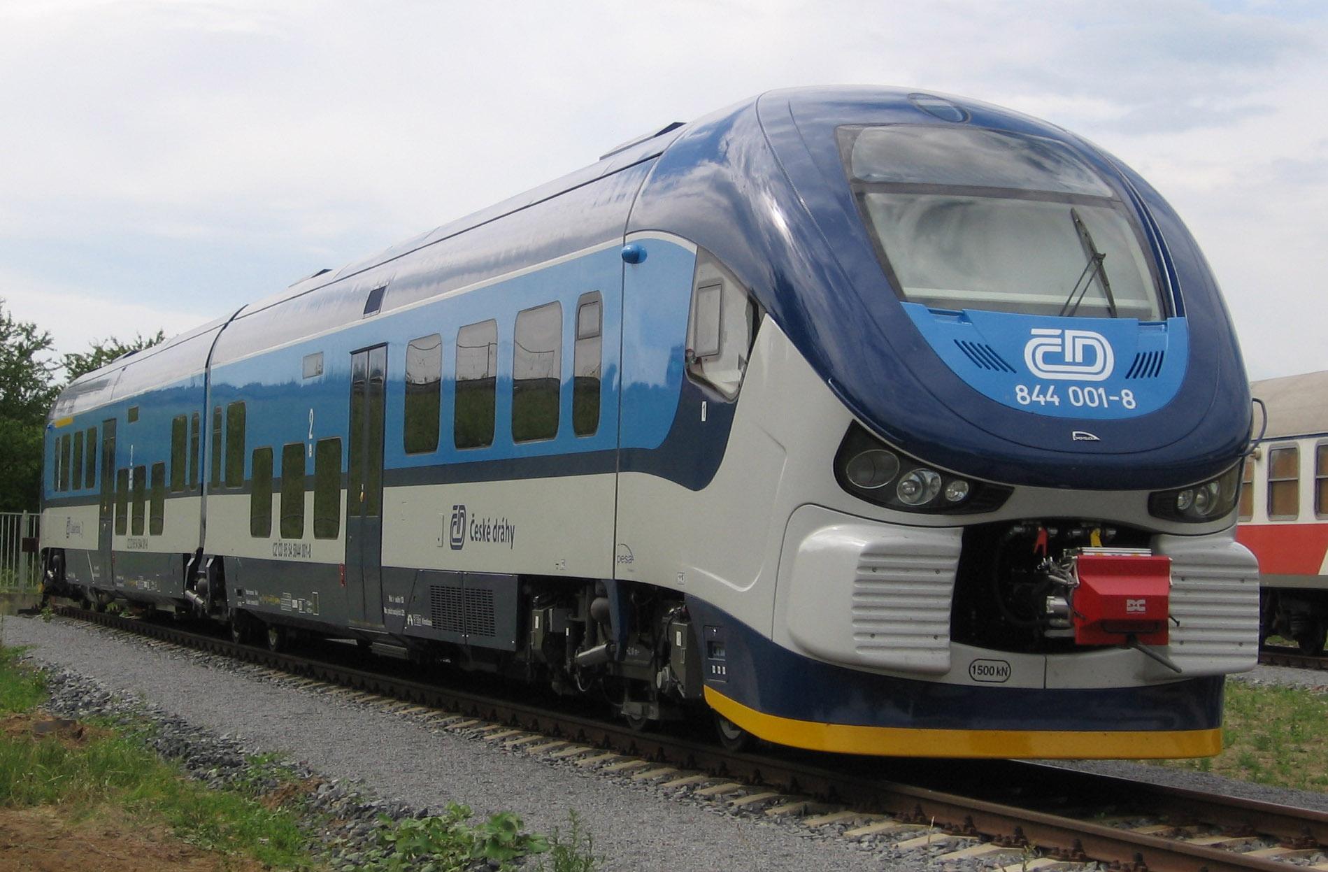 nowoczesny pociąg