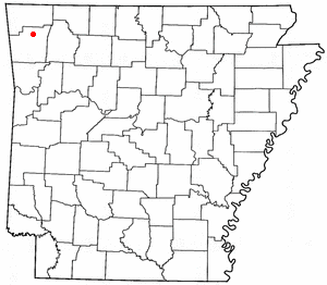 Loko di Johnson, Arkansas