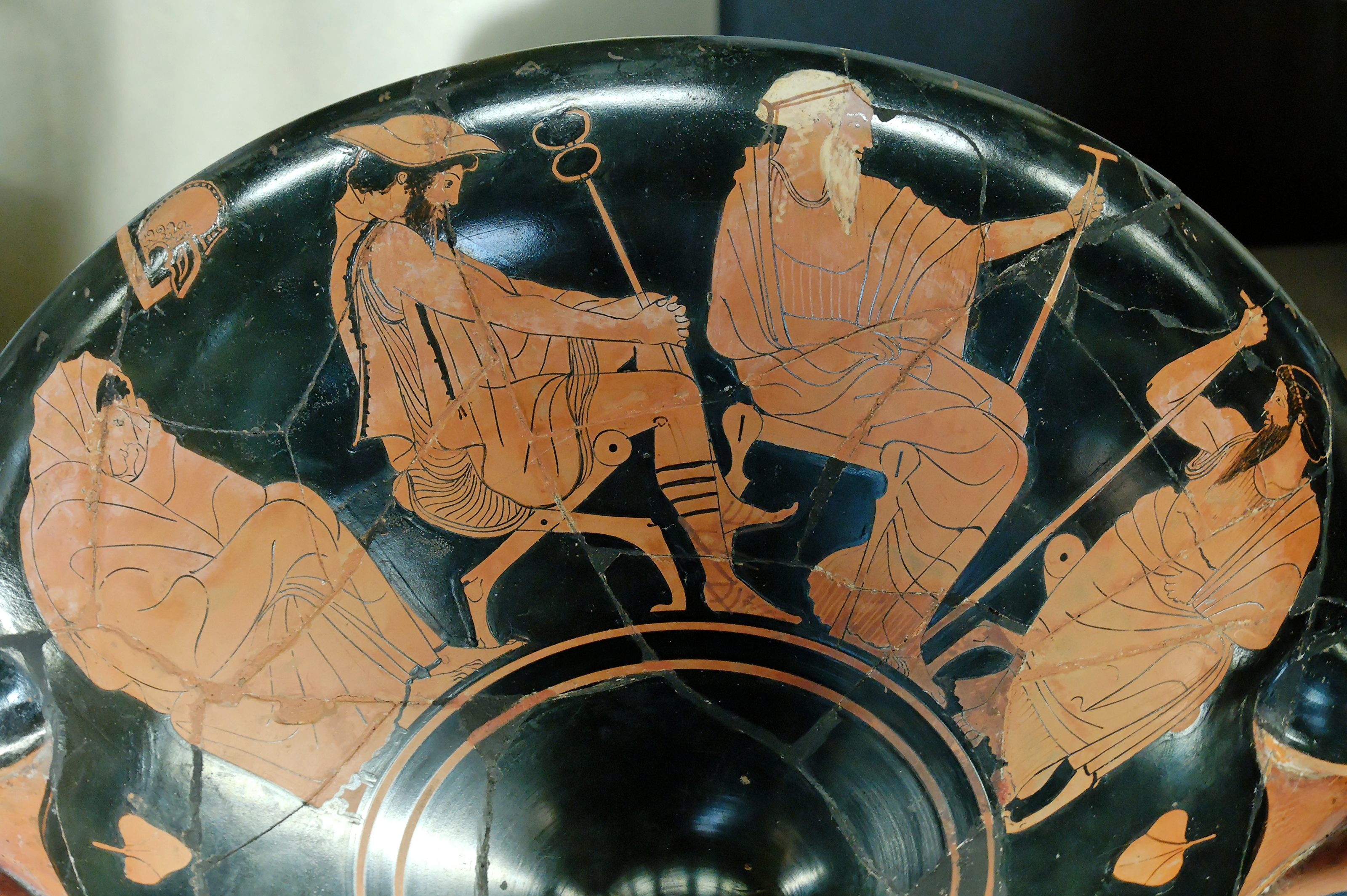 Achilles and the Embassy Book Ix of the Iliad