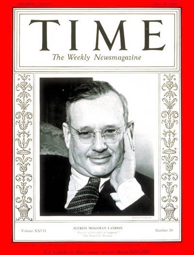 Alfred Landon-TIME-1936
