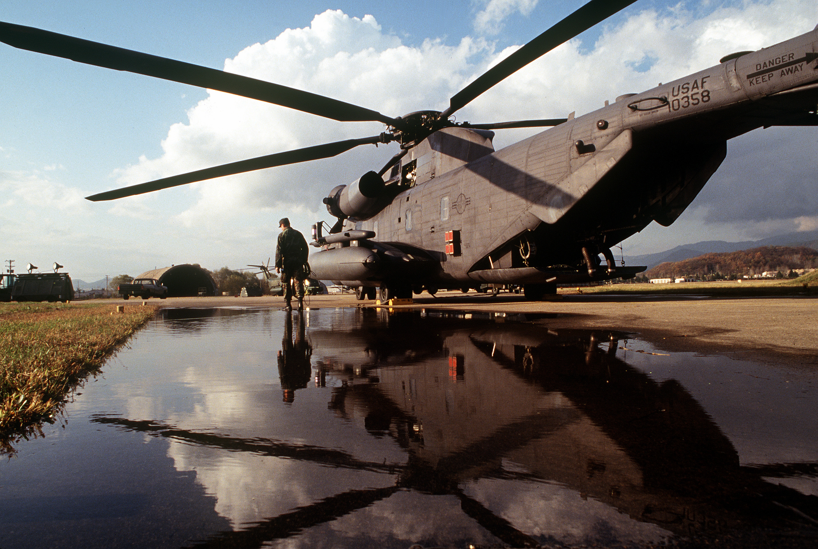 helicopter flight video with File An Mh 53j Pave Low Iii Helicopter From The 31st Special Operations Squadron At Osan Air Base Sits On The Flightline At Taegu Air Base  South Korea In Support Of Foal Eagle  2793 Df St 94 01932 on V 22 Osprey Starts Us Aircraft Carrier Tests likewise De Havilland V ire Jet moreover Blue Angels Stunt Looks Insanely Dangerous additionally Cirrus Sr 22 Gts as well File An MH 53J Pave Low III helicopter from the 31st Special Operations Squadron at Osan Air Base sits on the flightline at Taegu Air Base  South Korea in support of Foal Eagle  2793 DF ST 94 01932.