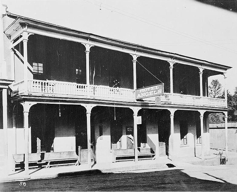Angels Hotel where Twain first heard the story