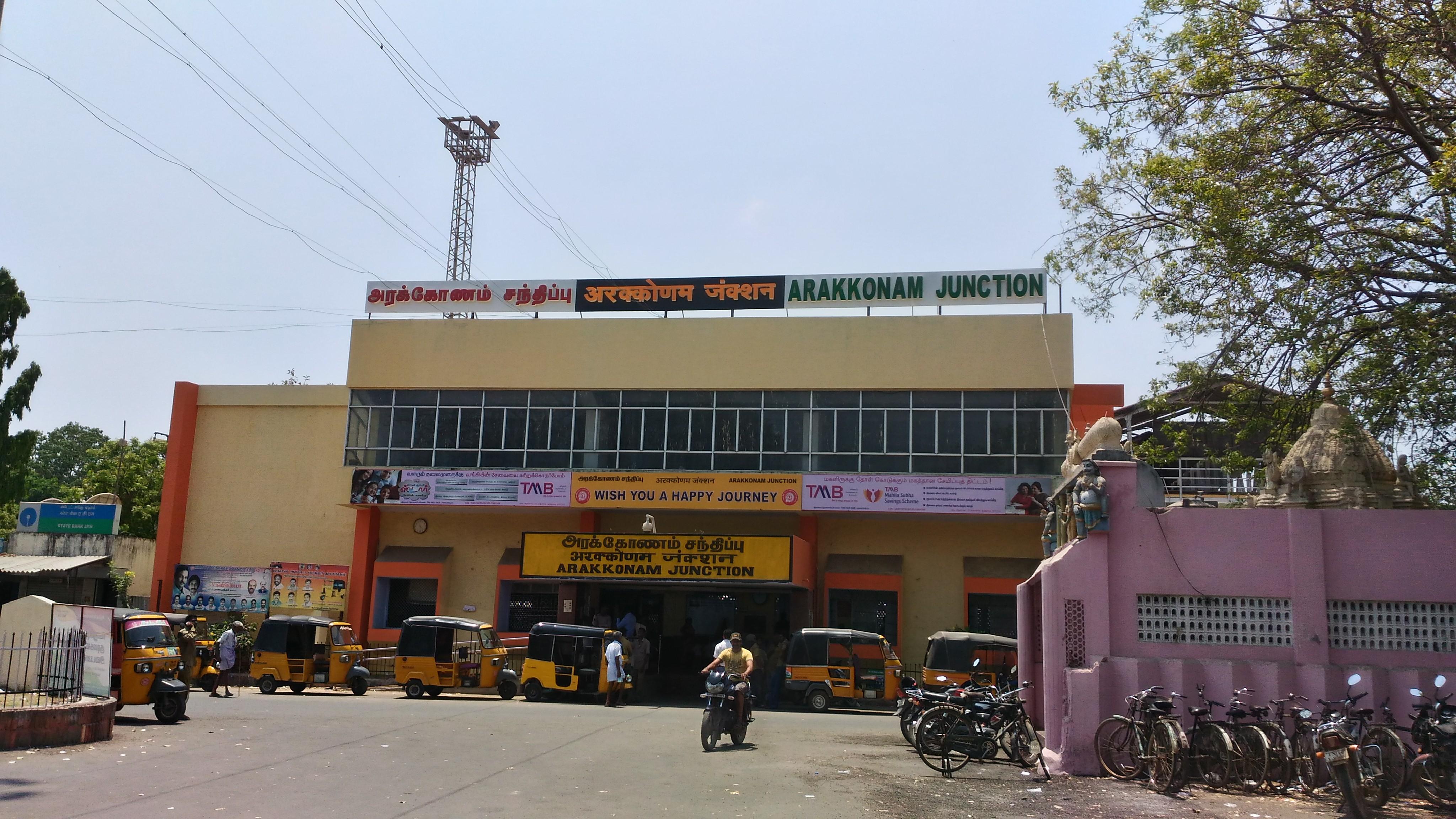 Arakkonam KSR Bengaluru Passenger (UnReserved) 56261 train running status