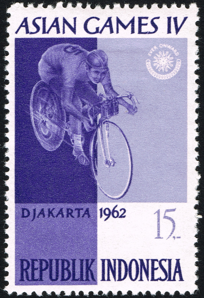 Asian Games 1962 stamp of Indonesia 19 - Asian Games Iv