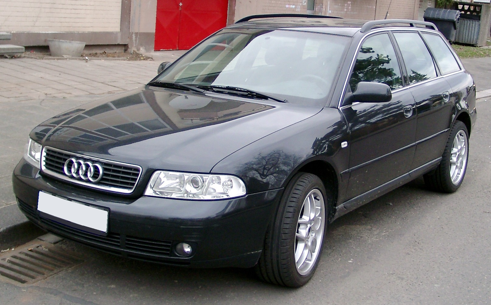 File Audi A4 B5 Avant Front 20080121 Jpg Wikimedia Commons