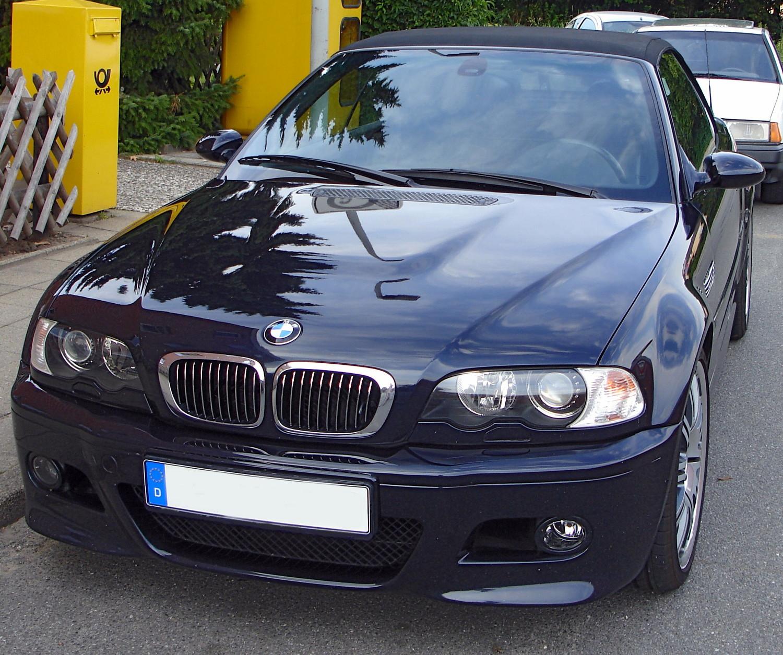 File:BMW M3 E46 Cabrio front.jpg