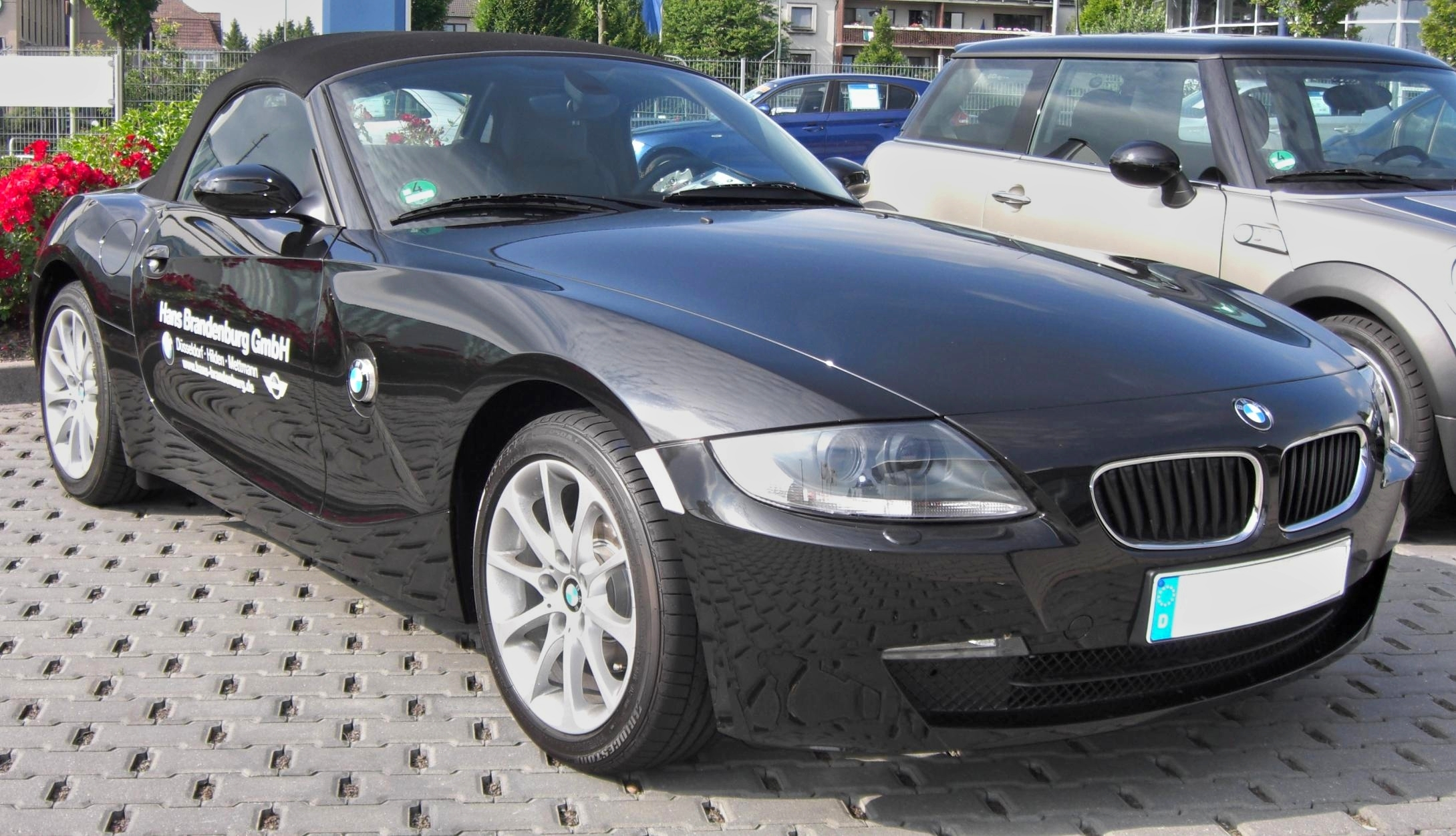 File Bmw Z4 Cabrio Facelift Front Jpg Wikimedia Commons