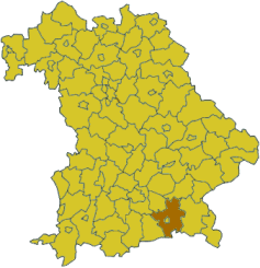De Log vom Landkroas in Bayern