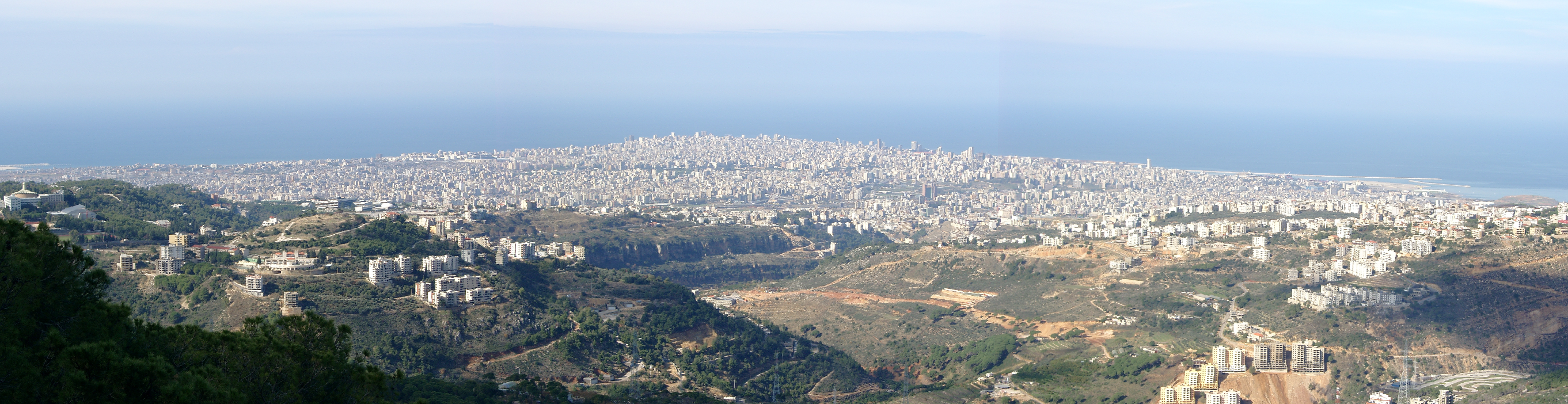 Panorama of Beirut