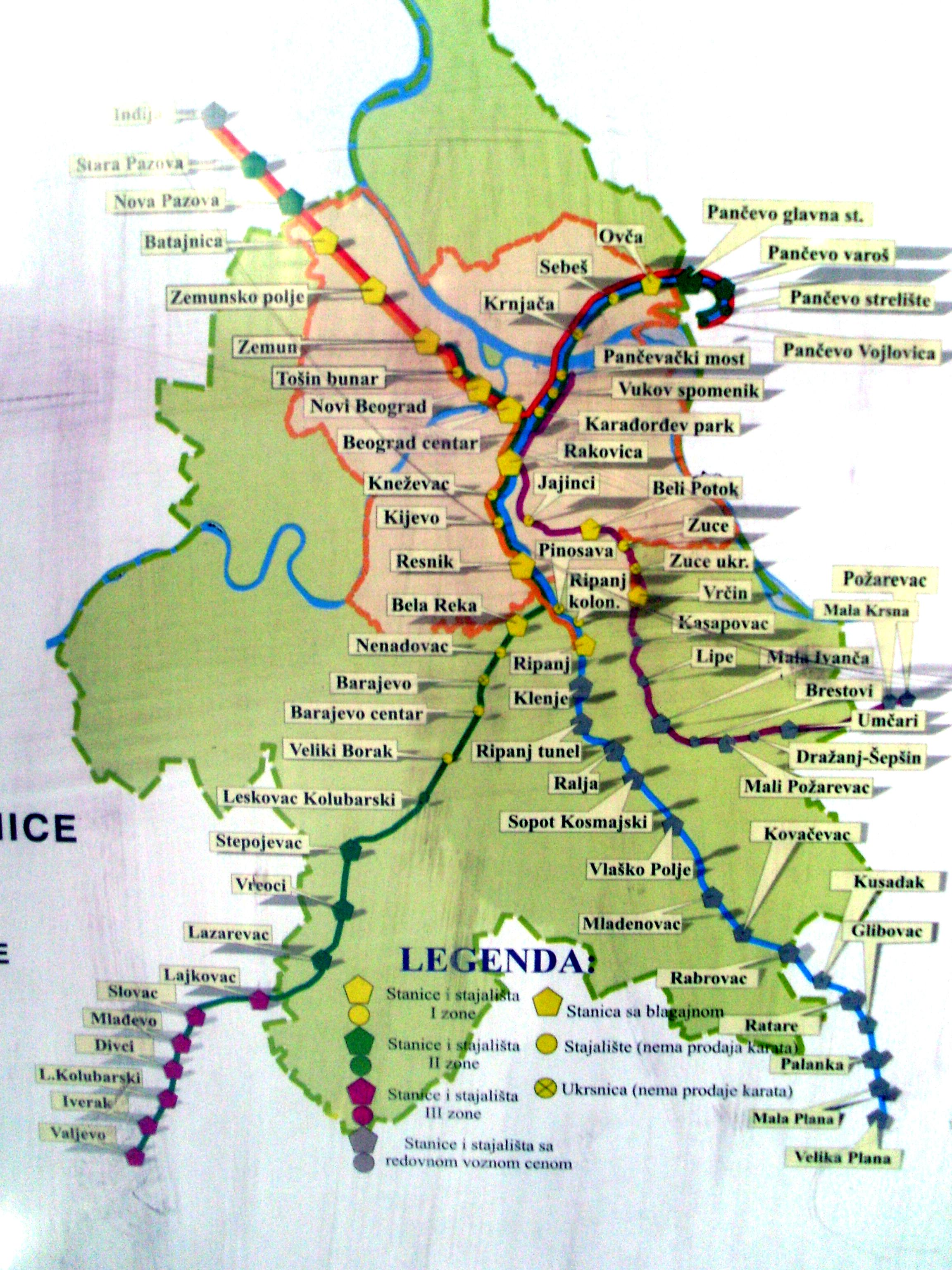 barajevo mapa BEOVOZ   BG:VOZ   stanje i mogućnosti   Page 17   BEOBUILD | FORUM barajevo mapa