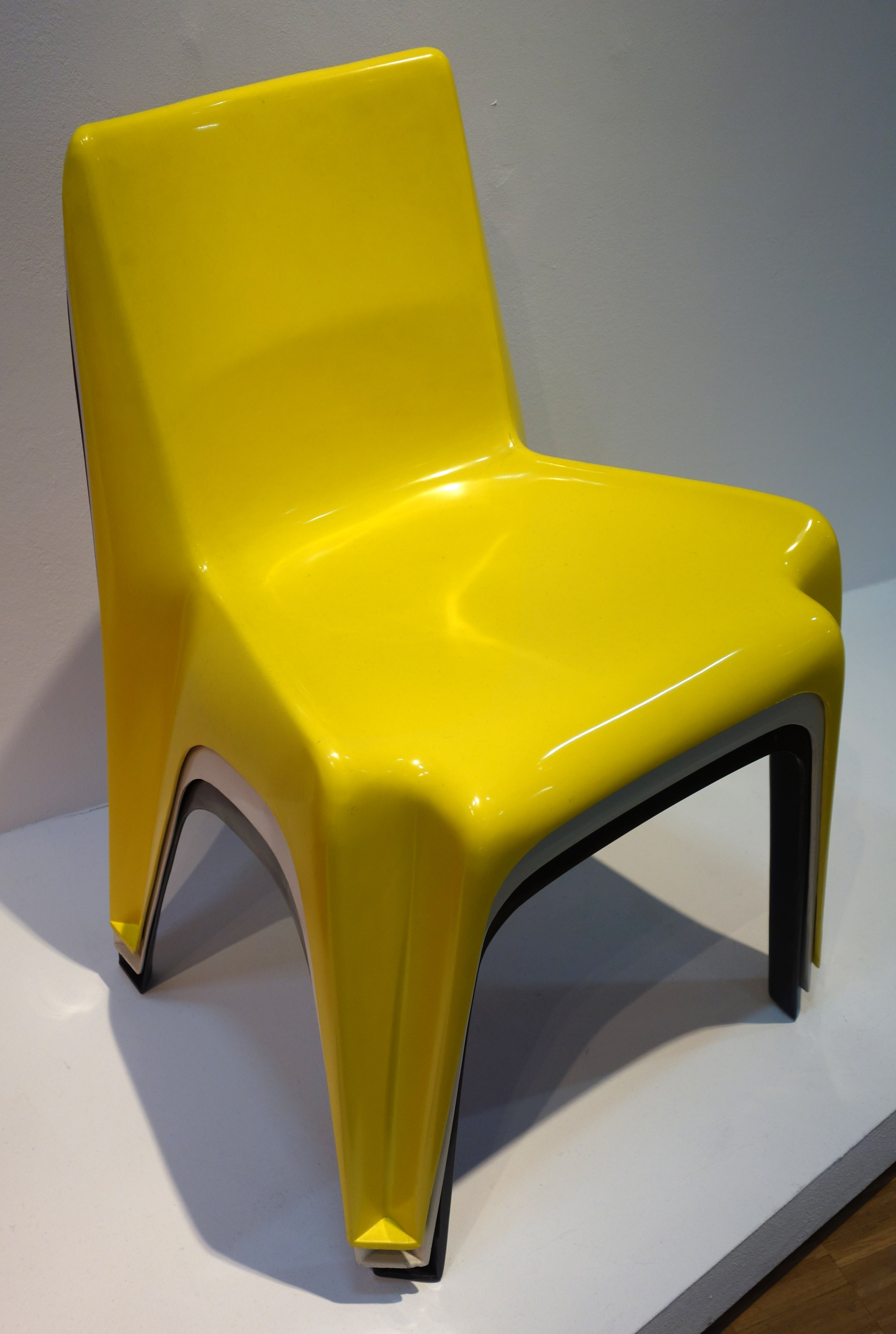 Bofinger by Helmut Bätzner 1964  classic miniature REC014 1//12 scale Chair