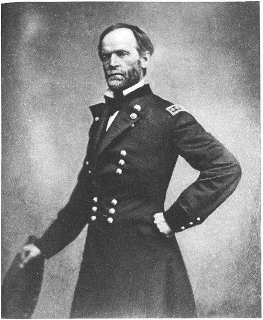 william t sherman This is a biography of the civil war union major general william tecumseh  sherman.